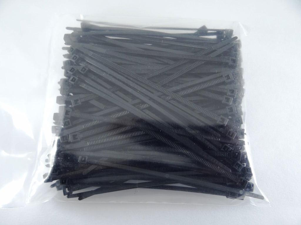 Abraçadeira Cinta Plástica Nylon 1,0 X 2,5 X 100 Mm 200 Pçs C10