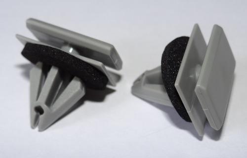 Grampo Spoiler  Para-choque Cobalt Cruze Hatch Cobalt Cruze Hatch Malibu Onix Prisma S10 Tracker Trailblazer 10 Pcs 290