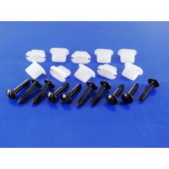 Kit Fixação Moldura Para-lama Peugeot 106 207 3008 306 307 PF071