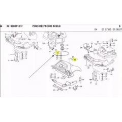 Grampo da Tampa Acabamento Motor 1.8 Turbo Audi Volksvagem VW01