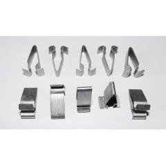 Presilha Metal Longa Forro Colunas Porta Malas Audi A3 A4 A5 A6 RS3 RS4 RS5 RS6 TT 10 Pcs 09