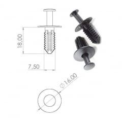 Grampo Para-barro Clk350 Clk550 Clk63 AMG C230 C280 C320 C350 C55 AMG E320 10 Pcs 340