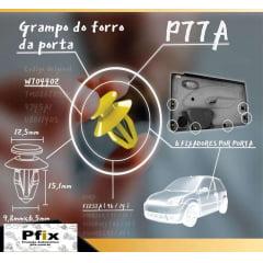 Grampo Forro De Portas Volkswagen Polo 50 Pcs 77