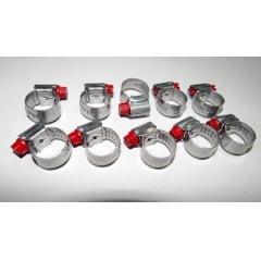 Abracadeira Aco Carbono 9 x 13 mm 10 Unidades
