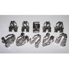 Grampo Metal Porta Porta-malas Teto Soleira Peugeot 206 306 307 406 607 Partner 10 Pcs 35