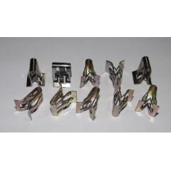 Grampo Metal Moldura Som Freemont 10 Pcs 34