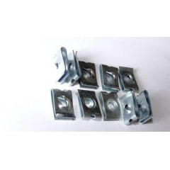 Porca Rapida Universal Diversas Utilidades Aço 10 Pcs T22