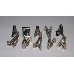Presilha Grampo Painel Console Molduras Internas Gm Agile Camaro Captiva Cobalt Cruze Montana Omega Onix Prisma S10 Sonic Spin Trailblazer  10 Pcs 34