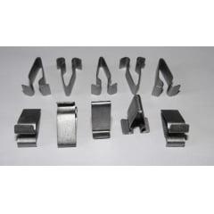Presilha Metal Longa Forro Colunas Porta Malas Audi 10 Pcs 09